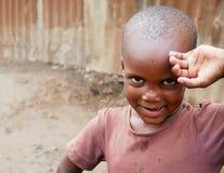 Muchacho de Uganda Foto de archivo libre de regalías
