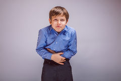 Muchacho del adolescente 10 años de aspecto europeo Fotos de archivo