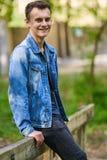 Muchacho del adolescente al aire libre Foto de archivo libre de regalías