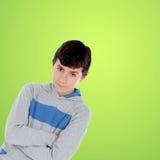 Muchacho del adolescente que mira la cámara Imágenes de archivo libres de regalías
