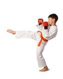 Muchacho del Aikido imagen de archivo libre de regalías