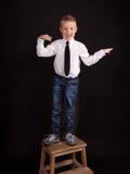 Muchacho del baile Foto de archivo libre de regalías