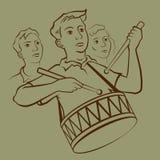 Muchacho del batería libre illustration