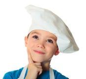 Muchacho del cocinero Fotografía de archivo