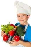 Muchacho del cocinero Foto de archivo libre de regalías