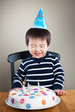 Muchacho del cumpleaños Fotografía de archivo libre de regalías