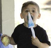 Muchacho del cumpleaños Foto de archivo libre de regalías