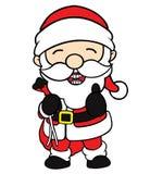 Muchacho del duende de la Navidad Foto de archivo libre de regalías