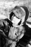Muchacho del invierno fotografía de archivo libre de regalías