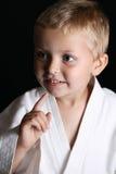 Muchacho del karate foto de archivo