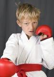 Muchacho del karate Imagenes de archivo