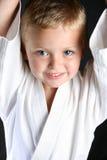 Muchacho del karate Fotografía de archivo libre de regalías