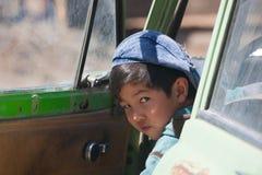 Muchacho del Kazakh Fotografía de archivo
