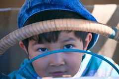 Muchacho del Kazakh Foto de archivo libre de regalías