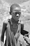 Muchacho del Masai Fotos de archivo libres de regalías