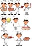 Muchacho del panadero Imagenes de archivo