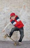 Muchacho del patinador Foto de archivo libre de regalías