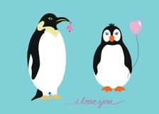 Muchacho del pingüino Imágenes de archivo libres de regalías