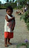 Muchacho del pueblo de Filipinas Fotografía de archivo
