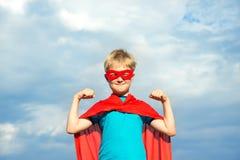 Muchacho del super héroe Fotografía de archivo libre de regalías