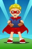 Muchacho del superhéroe Foto de archivo