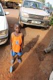 Muchacho del Ugandan Foto de archivo