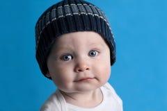 Muchacho en azul Imagen de archivo libre de regalías