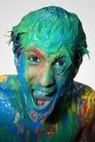 Muchacho en color foto de archivo libre de regalías