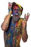 Muchacho en color Fotografía de archivo libre de regalías