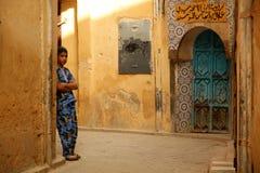 Muchacho en el medina Foto de archivo libre de regalías