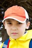 muchacho en la calle Fotos de archivo libres de regalías