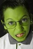 Muchacho enojado del estudiante Imagen de archivo libre de regalías