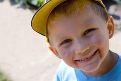 Muchacho feliz Imagen de archivo libre de regalías