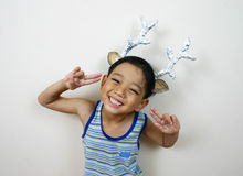 Muchacho feliz joven Imagen de archivo