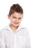Muchacho fresco joven derecho Imagen de archivo libre de regalías