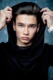 Muchacho hermoso joven del adolescente Imágenes de archivo libres de regalías