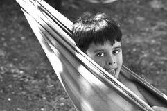 Muchacho hispánico Fotos de archivo libres de regalías