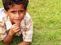 Muchacho indio Fotografía de archivo libre de regalías