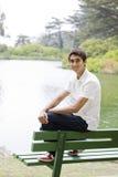 Muchacho indio adolescente Fotos de archivo