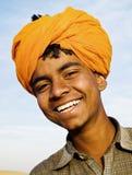 Muchacho indio indígena que sonríe en la cámara Fotografía de archivo libre de regalías