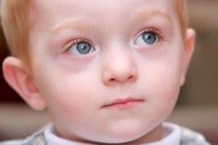 Muchacho joven adorable, foco suave foto de archivo