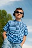 Muchacho joven al aire libre Imagen de archivo