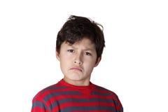 Muchacho joven con actitud Imagen de archivo libre de regalías