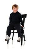 Muchacho joven con Down Syndrome Foto de archivo