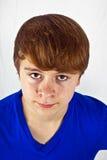 Muchacho joven de mirada amistoso Fotografía de archivo
