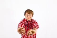 Muchacho joven de mirada amistoso Imágenes de archivo libres de regalías
