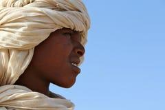 Muchacho joven en África fotografía de archivo