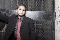 Muchacho joven hermoso en un juego Fotografía de archivo