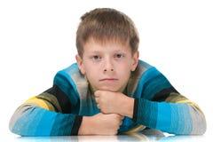 Muchacho joven hermoso listo Foto de archivo libre de regalías