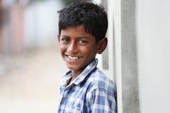 Muchacho joven indio Imagen de archivo libre de regalías